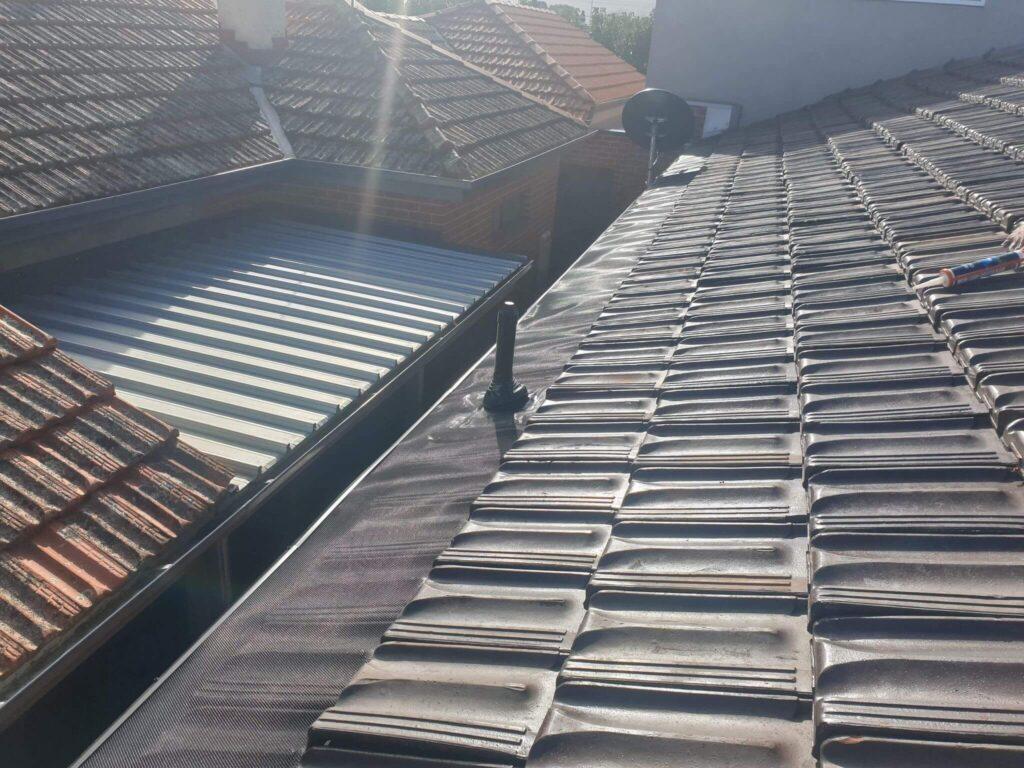 Gutterguard installation by Brennan Roofing Pakenham Upper