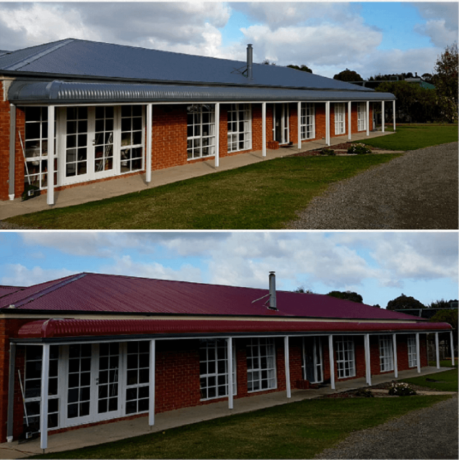 Colorbonding services in Ferntree Gully, Roof pressure cleaning in Ferntree Gully