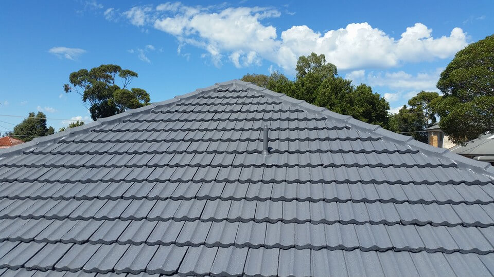 damaged roof restored by Brennan Roofing Ferntree Gully