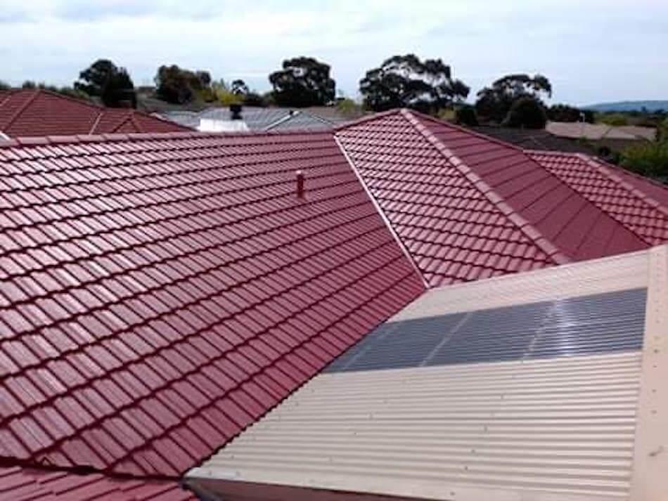 restored roof, roof restoration