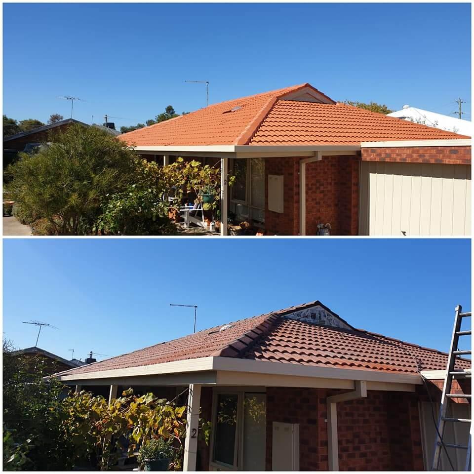 roof restoration in Mornington