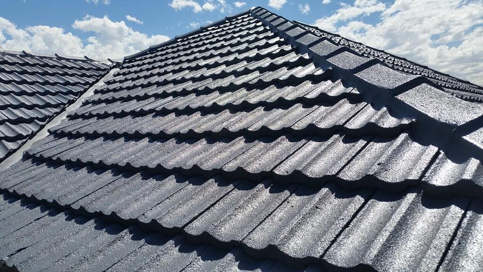 tiled roof after roof resto
